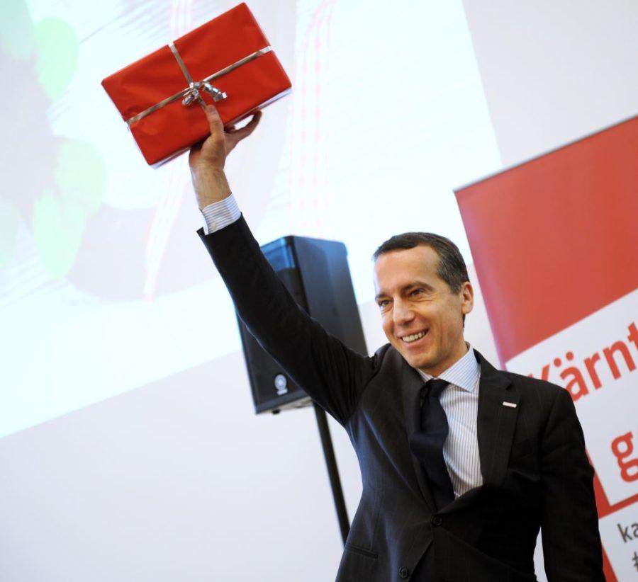 Christian Kern - SPÖ und RI Neujahrsempfang
