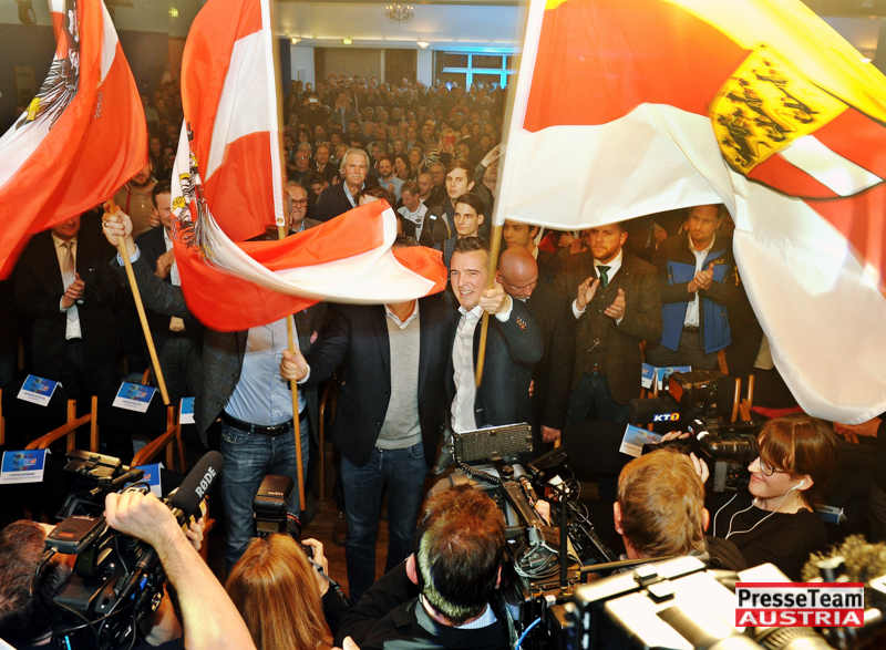 DSC 4548 FPOE Wahlkampfauftakt Kaernten - FPÖ Wahlkampf Auftaktveranstaltung