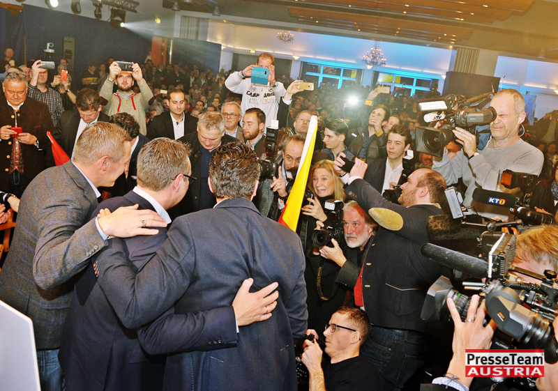 DSC 4553 FPOE Wahlkampfauftakt Kaernten - FPÖ Wahlkampf Auftaktveranstaltung