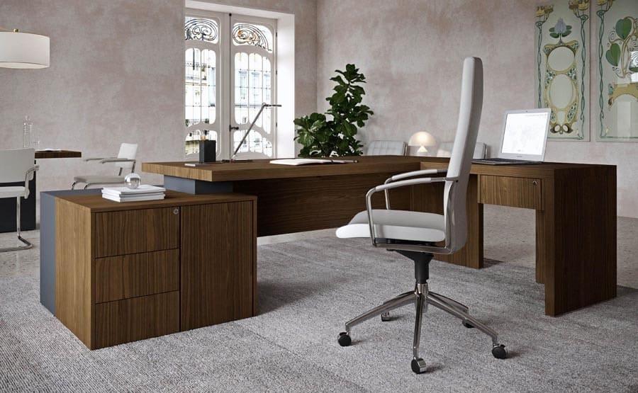 Luxus Bueromoebel NEWFORM UFFICIO 3 President - Designer Büromöbel Einrichtung Ideen