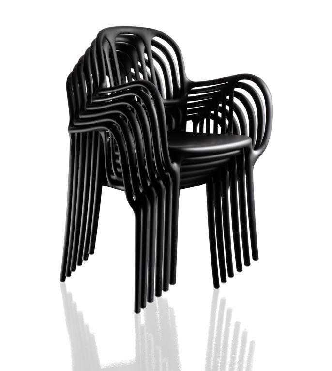 Mila Magis Sessel Schwarz - Magis – Auf der Suche nach MEHR