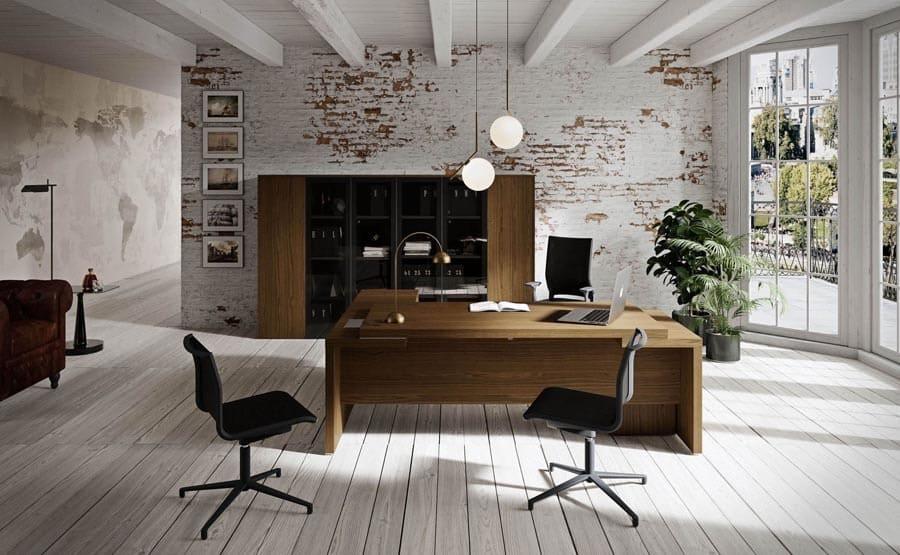 Moderne Bueromoebel NEWFORM UFFICIO 2 President - Designer Büromöbel Einrichtung Ideen
