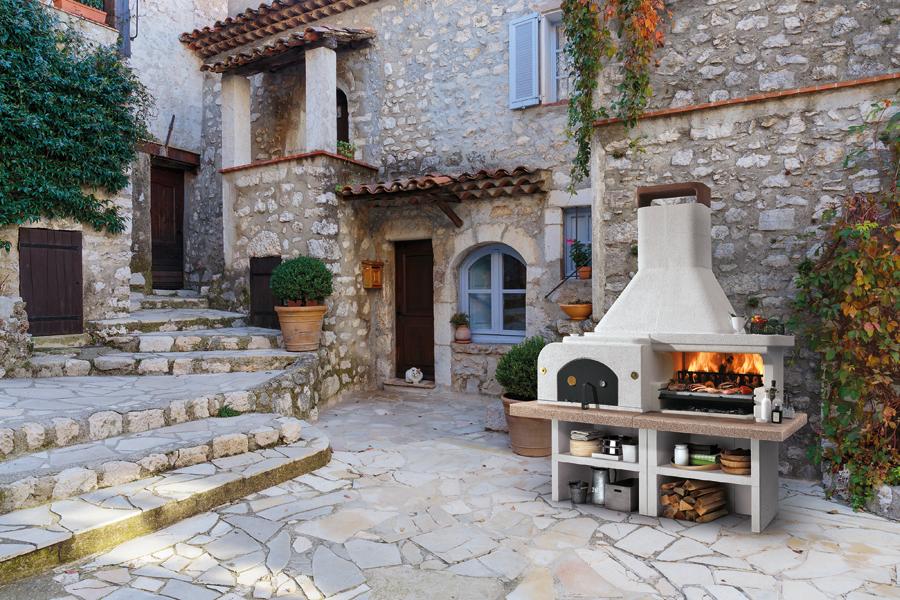 Küche für den Garten Küche für die Terrasse