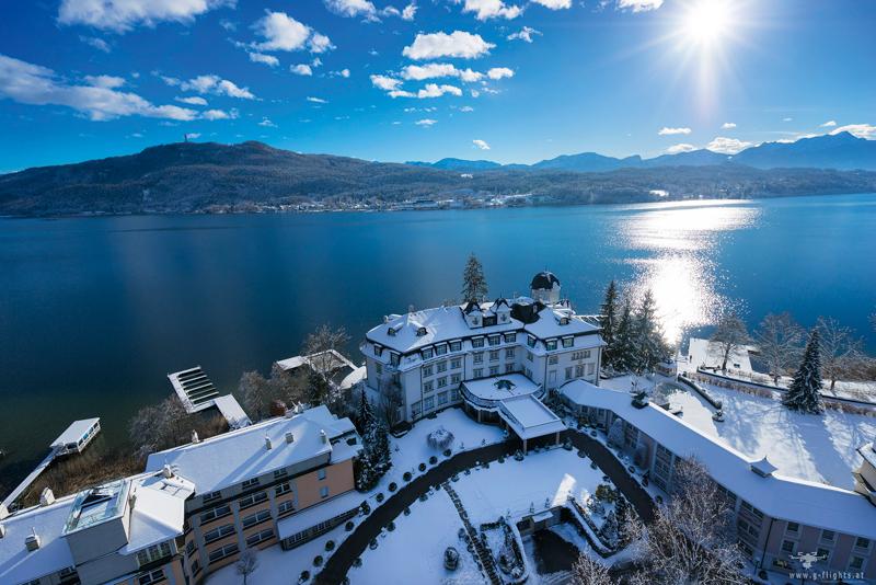 Wellness am See: Winterurlaub zum Genießen