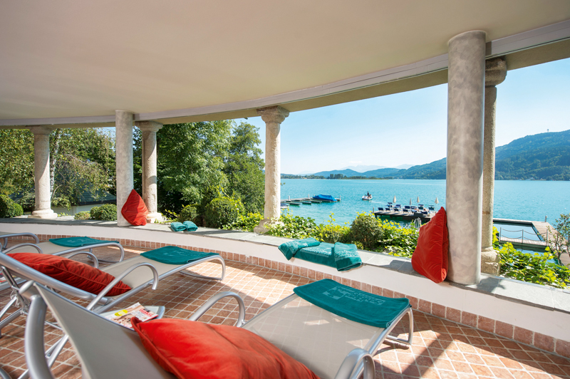5 Sterne Hotel Schloss Seefels In P 246 Rtschach Am W 246 Rthersee