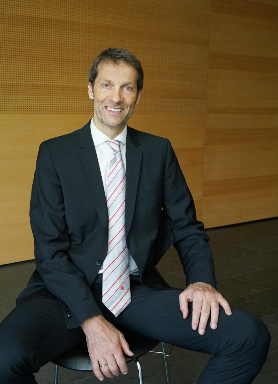 Wolfgang Kradischnig von der DELTA Gruppe