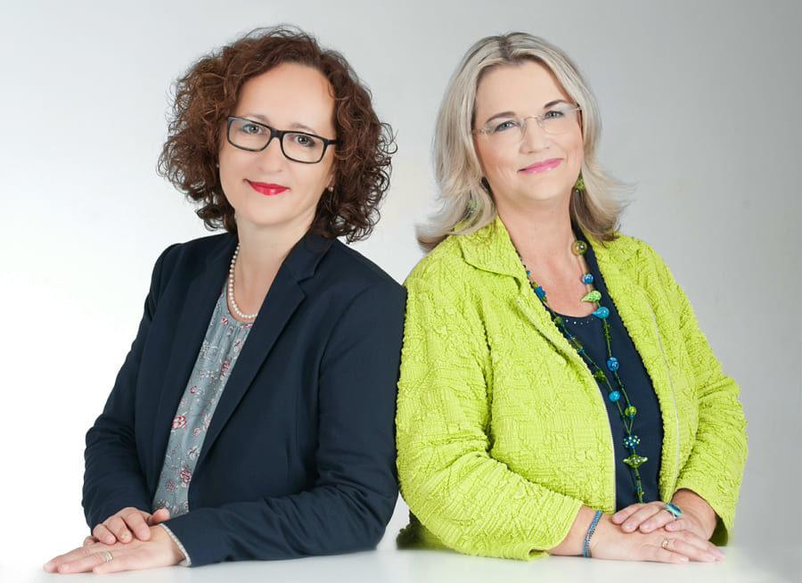Andrea Enzinger und Katja Hablich