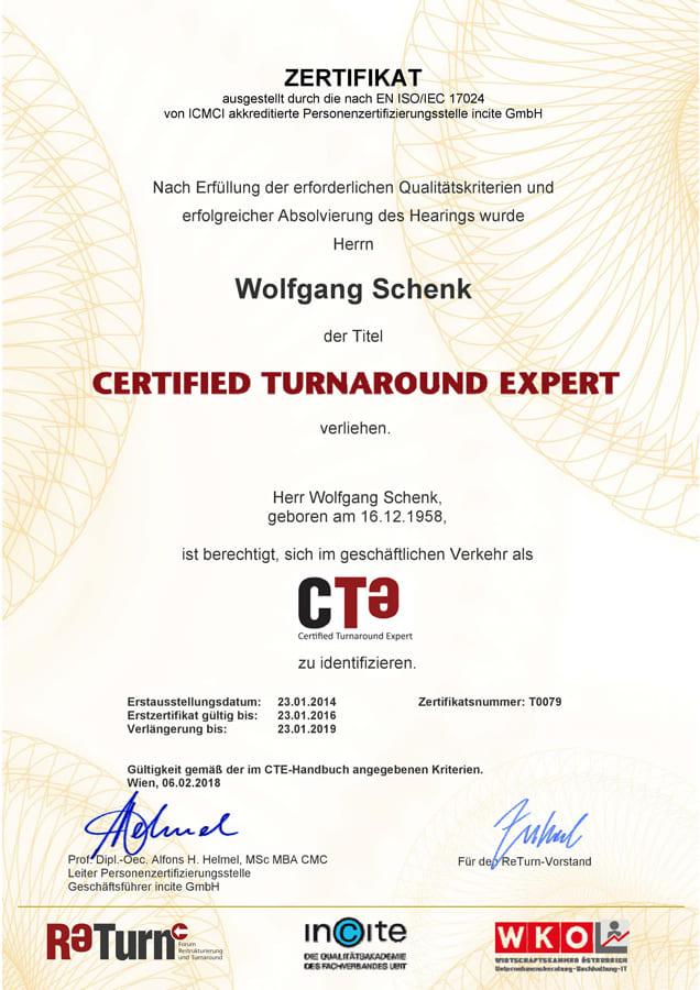Wolfgang Schenk ist Interim Manager bei demps & partner