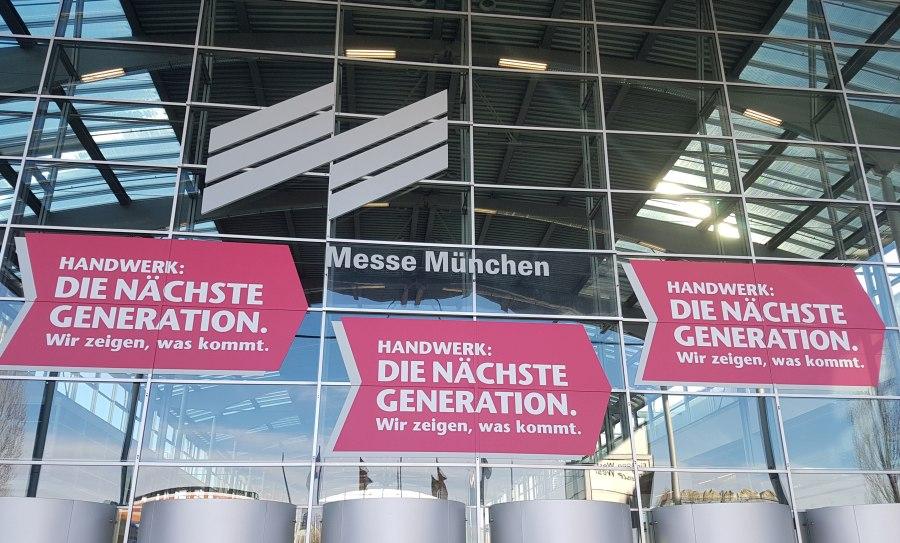 Handwerksmesse München IHM 1 - Die WKO auf der Internationalen Handwerksmesse München