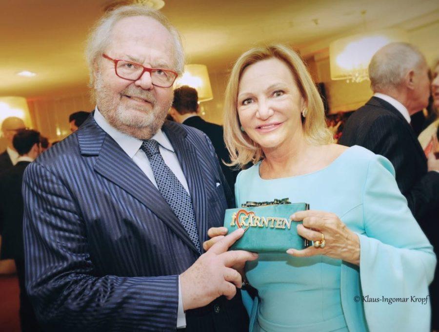 I LOVE KÄRNTEN Kärnten Botschafter Hans-Werner Frömmel und Ingrid Flick