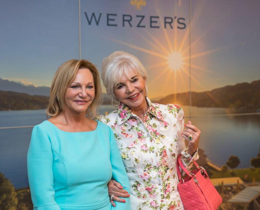 Ingrid Flick, Friederike Wlaschek, Werzer Saisoneröffnung 2018