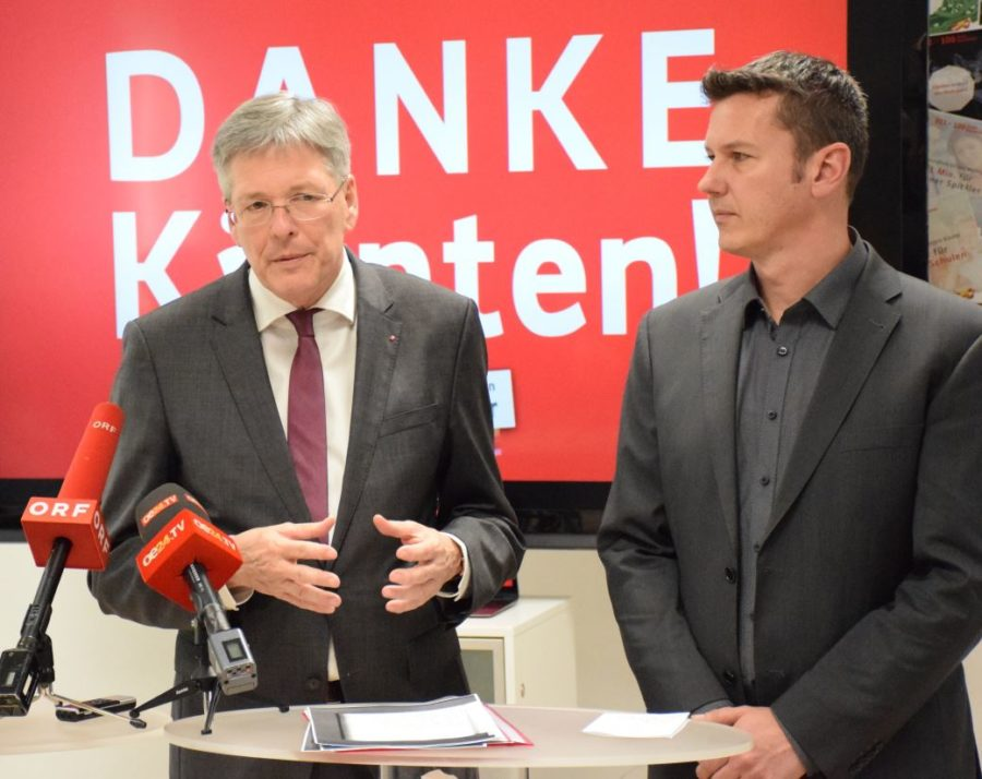 Dr. Peter Kaiser Kärnten SPÖ