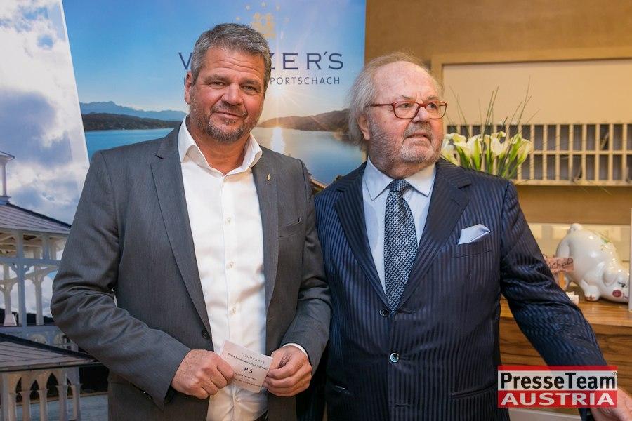 Landesrat Gerhad Köfer mit Hans-Werner Frömmel