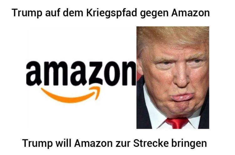 Trump: Wege, um Amazon zu stürzen