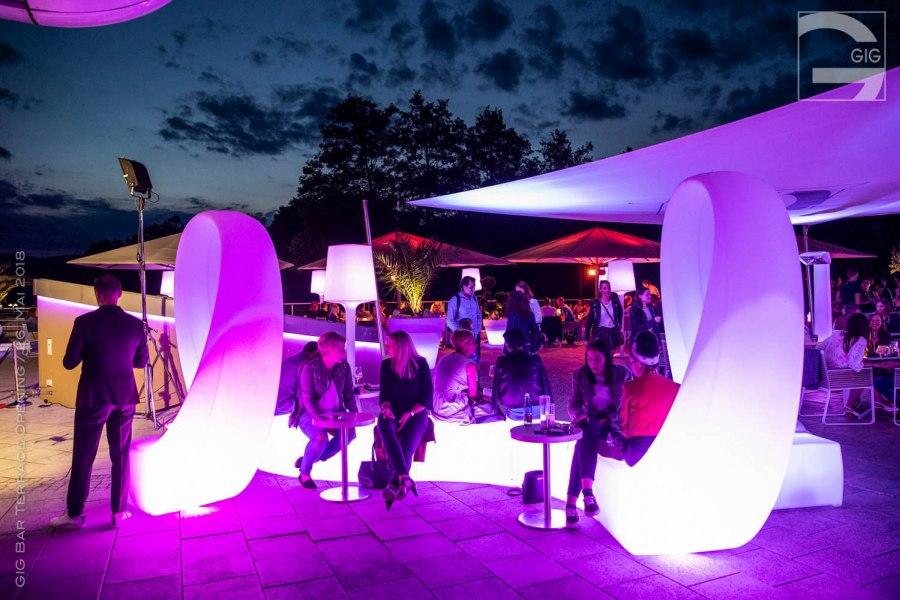 GIG Bar Klagenfurt Looping Graf News - GIG Bar Terrasseneröffnung 2018
