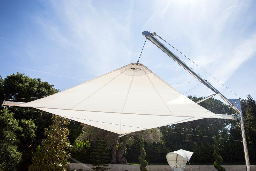 KE CapdAntibes 17 Kolibrie aperto laterale Sonnensegel - Sonnensegel die jede Art von Outdoor-Bereich respektieren und aufwerten