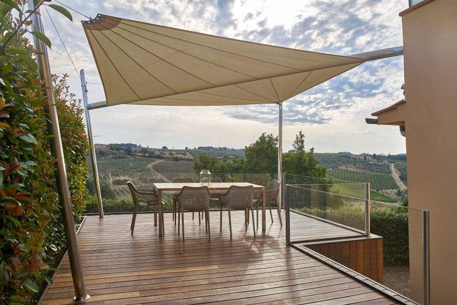 KE Kheope 2 AS Sonnensegel - Sonnensegel die jede Art von Outdoor-Bereich respektieren und aufwerten