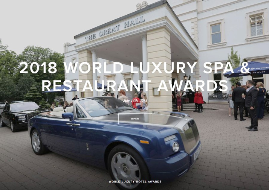 WORLD LUXURY SPA RESTAURANT AWARDS - International ausgezeichnet: VIVAMAYR Maria Wörth & Altaussee gewinnen internationalen Spa Award