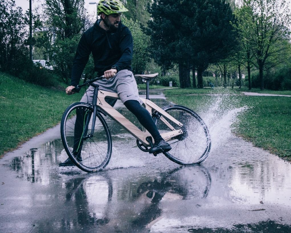 holzfahrad myesel - My Esel Fahrrad