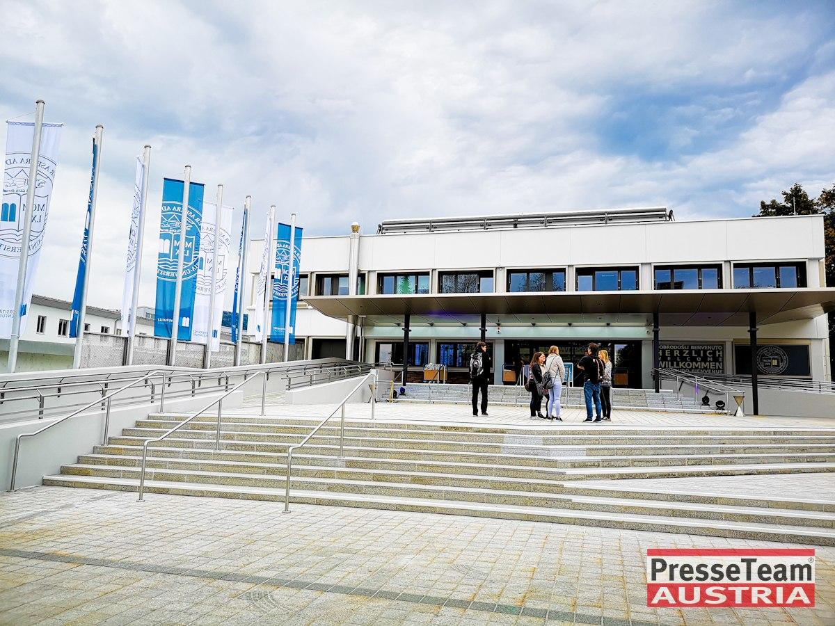 AAU UNI Klagenfurt Alpen Adria Universität 26 - Studienjahr beginnt an frisch sanierter Alpen-Adria-Universität Klagenfurt