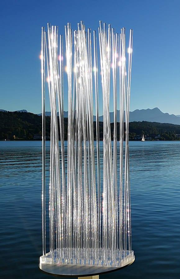 Paravent aus Acrylglas