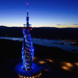 Pyramidenkogel Blau 250x250 - Pyramidenkogel-Turm wird Eishockey-Botschafter