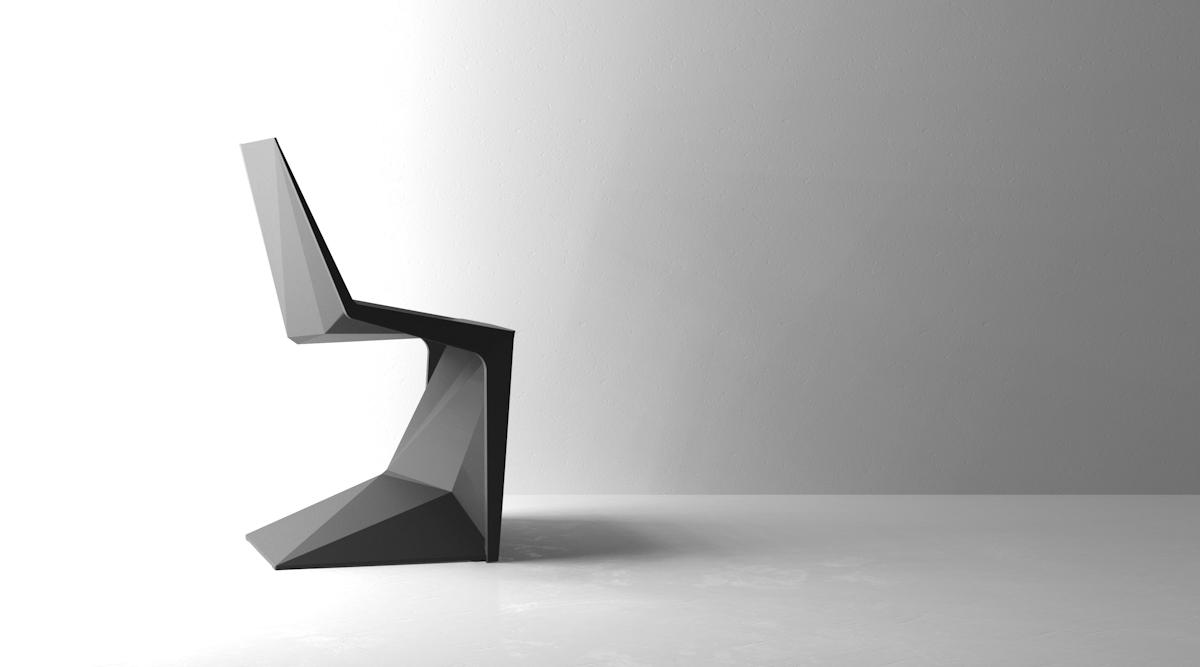 VONDOM VOXEL CHAIR KARIM RASHID 6 Haendler - Graf News Voxel chair | by Karim Rashid