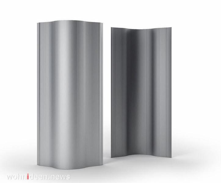 Aluminium Raumteiler mobil und modern - Die 124 schönsten Design Sichtschutz Raumteiler Ideen der Welt