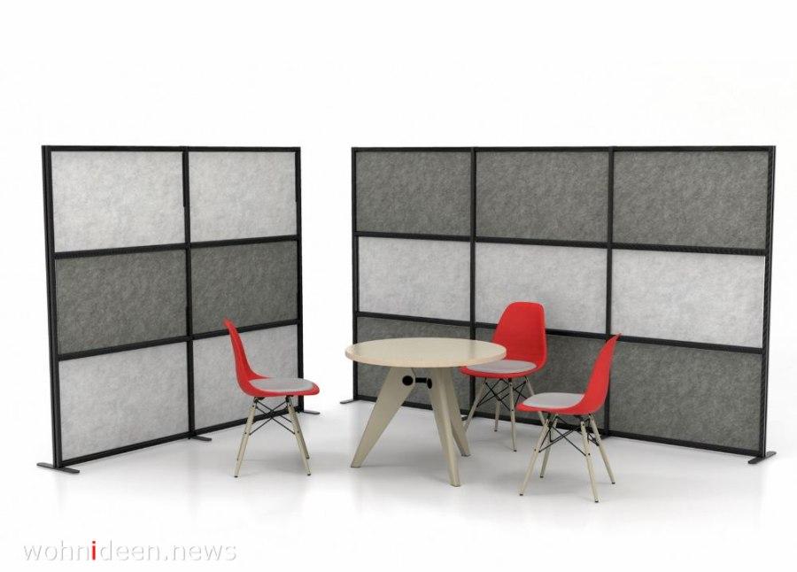 Büro Sichtschutzstellwände Hersteller - Die 124 schönsten Design Sichtschutz Raumteiler Ideen der Welt