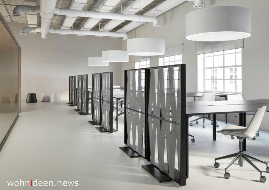 Bürosichtschutz für für den Schreibtisch - Die 124 schönsten Design Sichtschutz Raumteiler Ideen der Welt