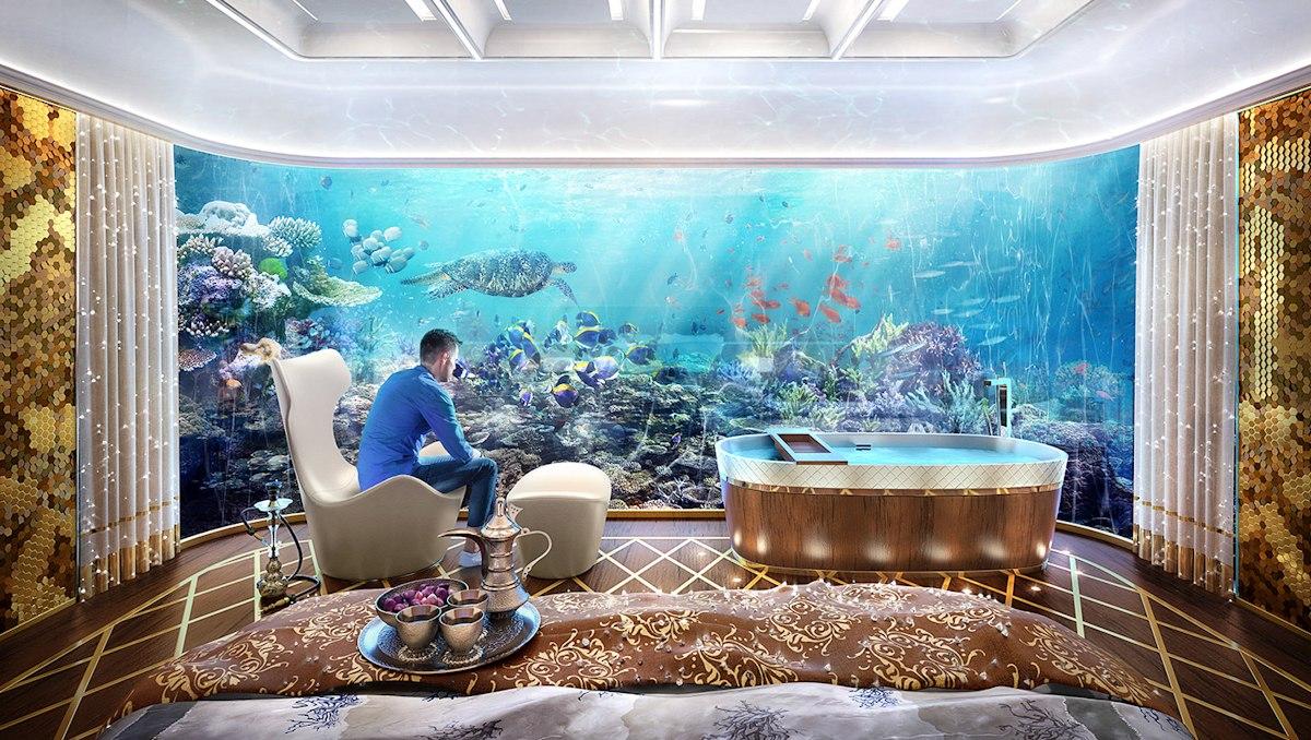 Dubai Seahorse the floating seahorse signature edition bedroom arabic edition - Luxus Urlaub in Dubai - Signature Edition