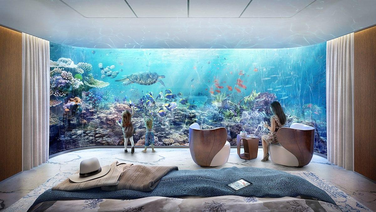 Unterwasserurlaub am Meer