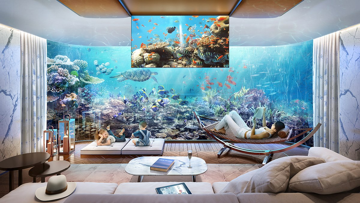 Dubai Seahorse the floating seahorse signature edition bedroom yacht edition - Luxus Urlaub in Dubai - Signature Edition