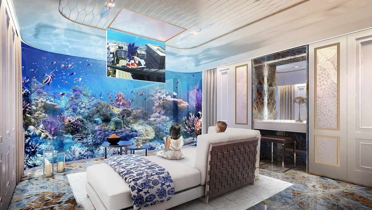 Dubai Seahorse the floating seahorse signature edition coral guestroom 2 - Luxus Urlaub in Dubai - Signature Edition
