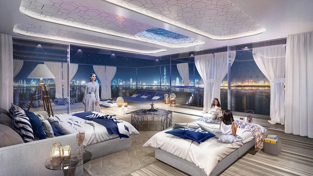 Dubai Seahorse the floating seahorse signature edition family room - Luxus Urlaub in Dubai - Signature Edition
