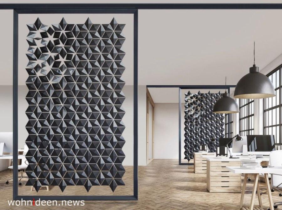 FREESTANDING ROOM DIVIDER FACET - Die 124 schönsten Design Sichtschutz Raumteiler Ideen der Welt