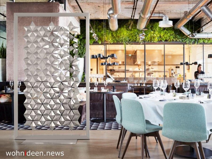 Freistehenden Raumteiler aus Metall - Die 124 schönsten Design Sichtschutz Raumteiler Ideen der Welt