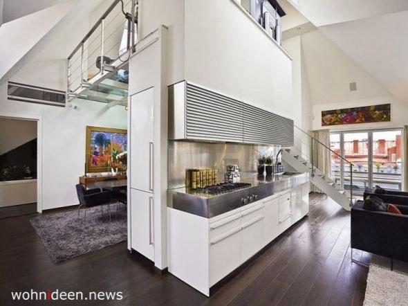 Küche als Raumteiler Idee - Die 124 schönsten Design Sichtschutz Raumteiler Ideen der Welt