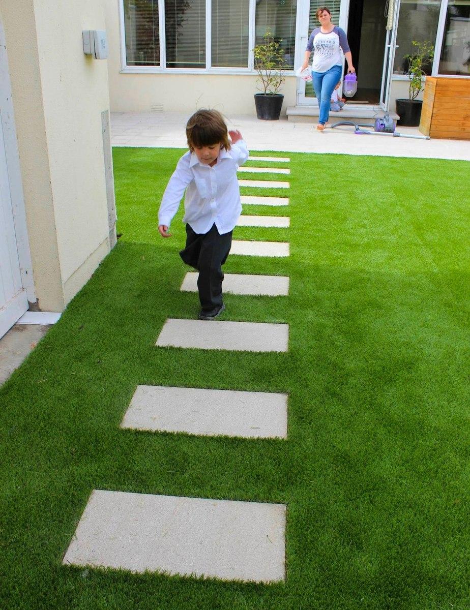Kunstrasen Teppich Rasenteppich - Kunstrasen Wie echt   Hohe Qualität, frische Farben