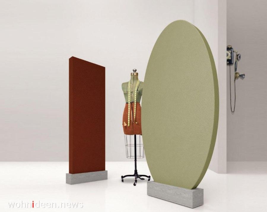 Paravent Raumteiler aus Stoff im modernen Stil - Die 124 schönsten Design Sichtschutz Raumteiler Ideen der Welt