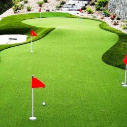 Kunstrasen für den Golfplatz