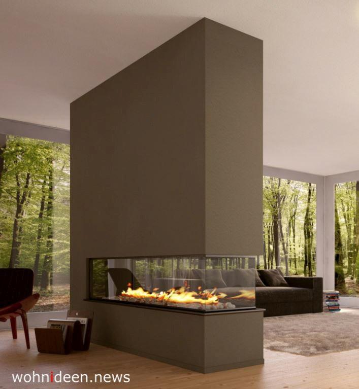 Sichtschutz Ideen für Raumteiler mit Kaminen - Die 124 schönsten Design Sichtschutz Raumteiler Ideen der Welt