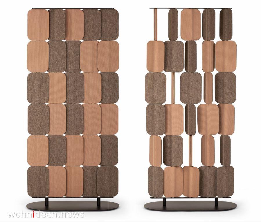 Sichtschutz Raumteiler aus Filz Stoff - Die 124 schönsten Design Sichtschutz Raumteiler Ideen der Welt