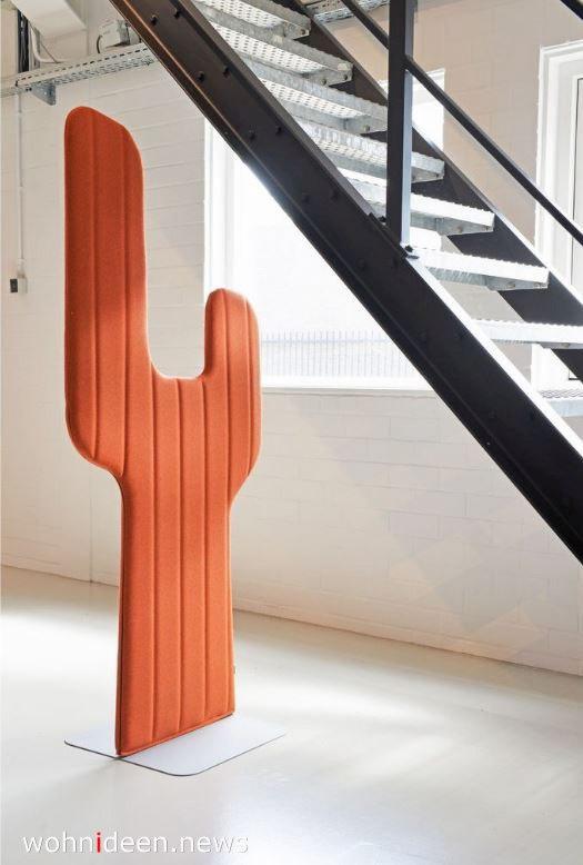Skulptur Raumteiler aus Stoff und Metal - Die 124 schönsten Design Sichtschutz Raumteiler Ideen der Welt