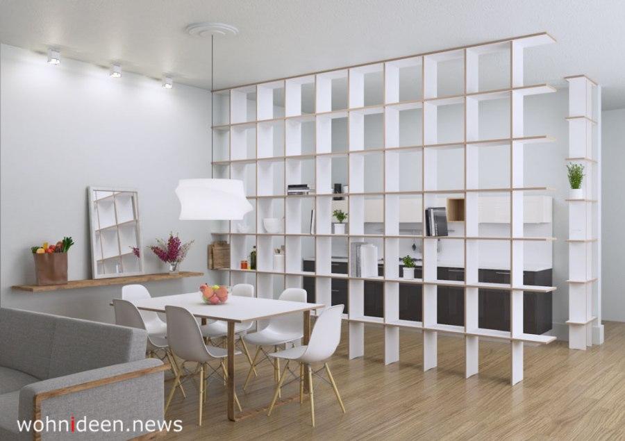 Stylisher Paravent als Raumteiler und Wohnraumdekoration - Die 124 schönsten Design Sichtschutz Raumteiler Ideen der Welt