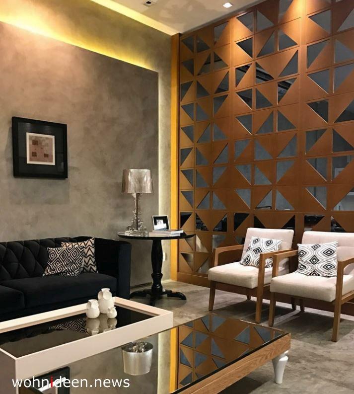 Wohnzimmer und Esszimmer Paravent Sichtschutz - Die 124 schönsten Design Sichtschutz Raumteiler Ideen der Welt
