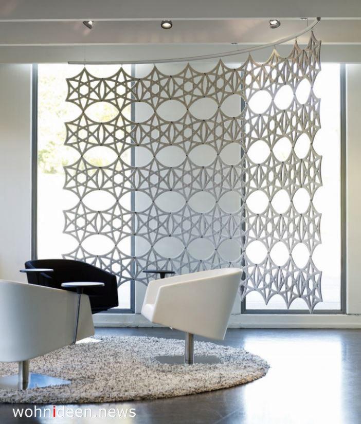 abgehängte mobile raumtrenner teiler - Die 124 schönsten Design Sichtschutz Raumteiler Ideen der Welt