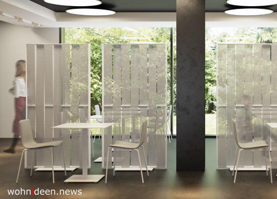 ausgefallene raumteiler für ein Restaurant - Die 124 schönsten Design Sichtschutz Raumteiler Ideen der Welt