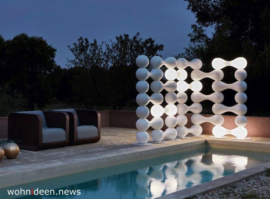 beleuchtete raumteiler aus Kunststoff - Die 124 schönsten Design Sichtschutz Raumteiler Ideen der Welt