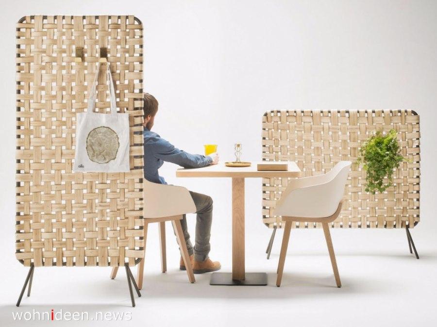 geflochtene Raumteiler aus Holz - Die 124 schönsten Design Sichtschutz Raumteiler Ideen der Welt
